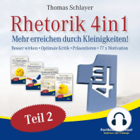 Rhetorik 4in1 Teil 2