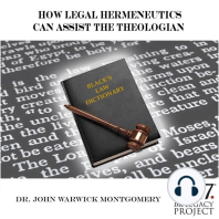How Legal Hermeneutics Can Assist the Theologian