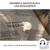 Prophecy, Eschatology and Apologetics