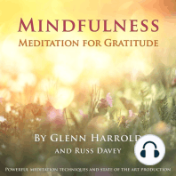Mindfulness Meditation for Gratitude