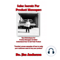 Sales Secrets for Product Managers