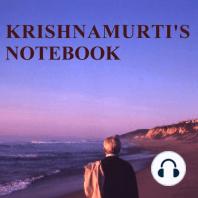 Krishnamurti's Notebook