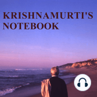 Krishnamurti's Notebook