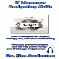 IT Manager Budgeting Skills