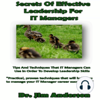 Secrets of Effective Leadership for IT Managers