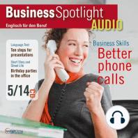 Business-Englisch lernen Audio - Besser Telefonieren