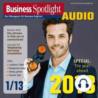 Business-Englisch lernen Audio - Das neue Jahr 2013