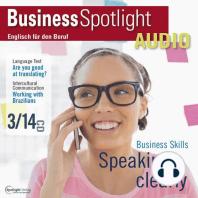 Business-Englisch lernen Audio - Effizientes Sprechen