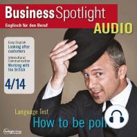 Business-Englisch lernen Audio - Geschäftsbeziehungen mit Briten