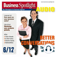 Business-Englisch lernen Audio - Schwierige Gespräche leichter gemacht