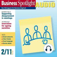 Business-Englisch lernen Audio - Verhalten bei Meetings