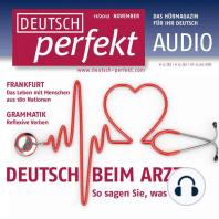 Deutsch lernen Audio - Beim Arzt