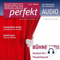 Deutsch lernen Audio - Bühne frei!