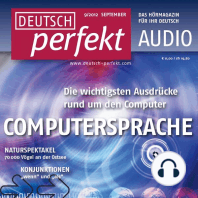 Deutsch lernen Audio - Computersprache