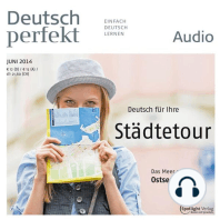 Deutsch lernen Audio - Deutsch für Ihre Städtetour