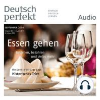 Deutsch lernen Audio - Essen gehen