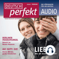 Deutsch lernen Audio - Flirten auf Deutsch