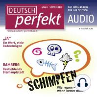 Deutsch lernen Audio - Schimpfen