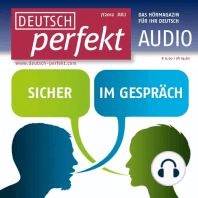 Deutsch lernen Audio - Sicher im Gespräch