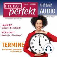 Deutsch lernen Audio - Termine vereinbaren