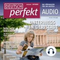 Deutsch lernen Audio - Unterwegs in der Stadt