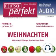 Deutsch lernen Audio - Weihnachten