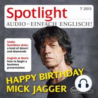 Englisch lernen Audio - Alles gute zum Geburtstag, Mick Jagger