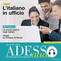 Italienisch lernen Audio - Im Büro