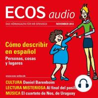 Spanisch lernen Audio - Beschreiben auf Spanisch
