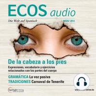 Spanisch lernen Audio - Redewendungen von Kopf bis Fuß