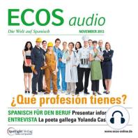 Spanisch lernen Audio - Spanisch für den Beruf