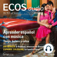 Spanisch lernen Audio - Spanisch lernen mit Musik