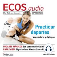 Spanisch lernen Audio - Sport treiben