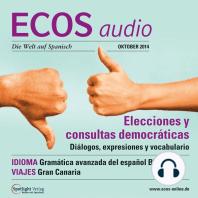 Spanisch lernen Audio - Wahlen und Volksbefragungen