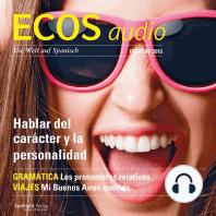 Spanisch lernen Audio - Über Charakter und Persönlichkeit sprechen