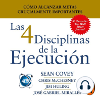 Las 4 Disciplinas de la Ejecución: Cómo alcanzar metas crucialmente importantes