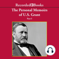 Personal Memoirs of Ulysses S. Grant, Part One