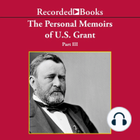 Personal Memoirs of Ulysses S. Grant, Part Three