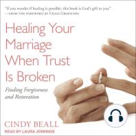 Healing Your Marriage When Trust Is Broken