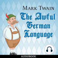 The Awful German Language