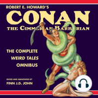 Conan the Cimmerian Barbarian: The Complete Weird Tales Omnibus