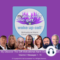 My Discover the Gift Wake UP Call™: Volume 2