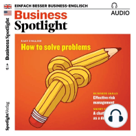Business-Englisch lernen Audio - Effektives Risiko-Management