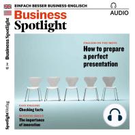 Business-Englisch lernen Audio - Eine perfekte Präsentation vorbereiten
