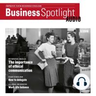 Business-Englisch lernen Audio - Ethische Kommunikation