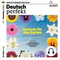 Deutsch lernen Audio - Deutsch für den Garten