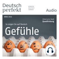 Deutsch lernen Audio - Gefühle