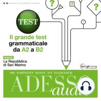 Italienisch lernen Audio - Der große Grammatiktest
