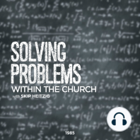 Solving Problems Within the Church