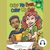 Color Me Even, Color Me Odd